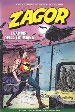 ZAGOR COLLEZIONE STORICA A COLORI VOLUME 197: I VAMPIRI DELLA LUISIANA