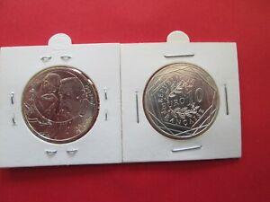 1 PIECE DE 10  EUROS ARGENT   Auguste RODIN 1917-2017