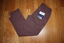 NEW Womens BANDOLINOBLU Amy Tapered Leg Comfort Slim Sugar Maple Jeans Pants 8