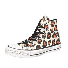 scarpe donna CONVERSE ALL STAR 36 EU sneakers multicolor tela AH636-B