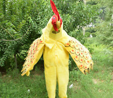 Christmas Rooster Mascot Costume Cosplay Party Clothing Carnival Adult Birthday@