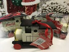 Coca-Cola Christmas Collectable Decoration- Coca-Cola Truck x3
