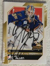 St. Louis Blues Jake Allen Signed 2010/11 ITG H&P Peroria Rivermen Card Auto