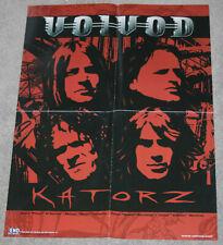Voivod - Katorz - 1996 promotional poster - heavy metal thrash metal speed metal