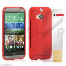Fundas y carcasas Para HTC One M8 color principal rojo para teléfonos móviles y PDAs HTC