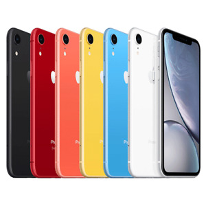 Apple iPhone XR Smartphone 128GB Unlocked Verizon AT&T Sprint T-Mobile
