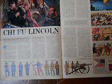 corriere dei piccoli  LINCOLN  dessins de HUGO PRATT originale '60  figurines