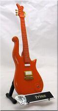 PRINCE Miniature Guitar Orange CLOUD  w/ Guitar Pick