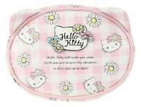 Sanrio Hello Kitty Face Pouch Cosmetic Bag: Daisy Patch NEW W TAG