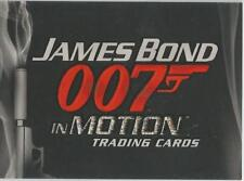 James Bond in Motion Promo Card Unnumbered