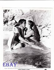 David Hemmings barechested VINTAGE Photo Only When I Larf busty babe