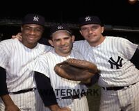 1963 NY Yankees Howard Berra & Blanchard  8 X 10 Color Photo Picture