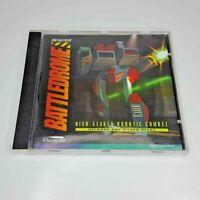 Battledrome High Stakes Robotic Combat PC CD-ROM Game 1995 Dynamix