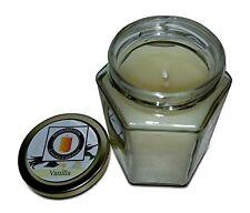 Vanilla Scented 100% Beeswax Jar Candle, 8 oz