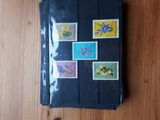 timbre luxembourg **(th) lot 35   neufs  n886/90   caritas fleurs