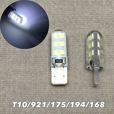 Parking Light No Canbus Error T10 W5W 168 175 194 2825 SMD LED WHITE bulb W1 J