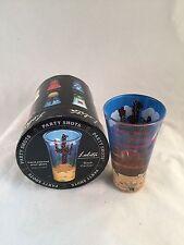 "Lolita ""Black Cactus"" 2-oz Handpainted Shot Glass w Recipe in Box"