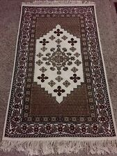 Brand New Handmade Wool Tunisian Carpet. Length 5ft  and 2in.Width  3ft and 1in