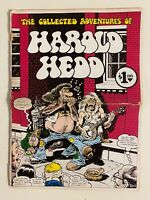 Collected HAROLD HEDD #1 Comix 1st printing 1973 Rand Holmes 10.5 X 14 LOW GRADE