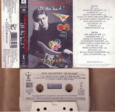 PAUL MCCARTNEY ALL THE BEST! MC TAPE CASSETTE