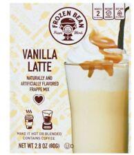 Frozen Bean Vanilla Latte Frappe Mix Iced Coffee Drink 10 Pack