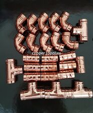 25 x 15mm Anello Di Saldatura Raccordo yourshire tipo di raccordi/Idraulica/Tubo di rame/NUOVO