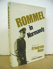 Rommel in Normandy - Reminiscences by Fredrich Ruge 1979 HB/DJ