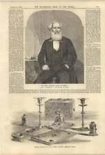 1858 Sir Peter FAIRBAIRN sindaco di Leeds Queens BOUDOIR woodsley House