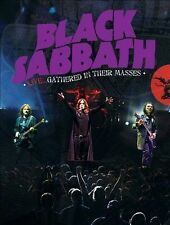BLACK SABBATH - BLACK SABBATH LIVE: GATHERED IN THEIR MASSES NEW DVD
