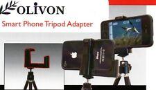 OLIVON SMARTPHONE ADAPTOR + MINI TRIPOD ATTACH SMARTPHONE DISCOPING  ADAPTOR