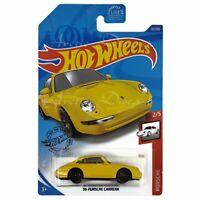 Hot Wheels 2020 Mainline #72 Porsche 2/5 - Yellow '96 Porsche Carrera LW GHF18
