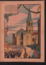 chapitre du Dorat ostensions Haute-Vienne Evêque de Limoges  1932 ILLUSTRATION