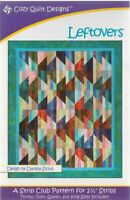 Leftovers Quilt pattern - Cozy Quilt Designs