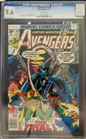 Avengers #160 cgc 9.6 White Pages Thor Iron man Captain America
