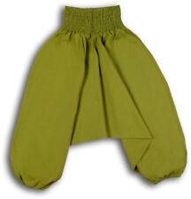 Pantaloni verde per bambine dai 2 ai 16 anni 100% Cotone