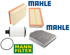 Air Filter Lt Rt Oil Filter AC Cabin Filter Carbon OEM Jaguar XK XKR XKR-S 10-15