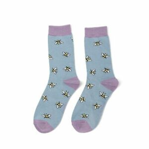 Women's Bumble Bee Scattered Bamboo/Cotton Socks