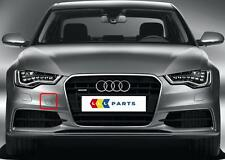 AUDI A6 4G 10-14 NEW GENUINE FRONT S-LINE BUMPER TOW HOOK COVER CAP 4G0807241A