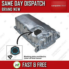 AUDI A3 1.6 1.9TDI 1996>2003 ENGINE OIL SUMP PAN WITH BLANKING PLATE 038103601NA