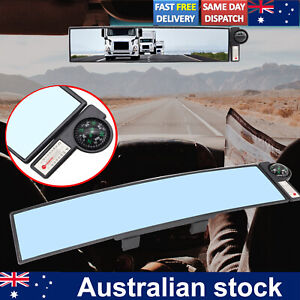 Large 300mm Car Interior Anti Glare Wide Angle Rear View Rearview Mirror Packing