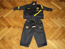 Barcelona Soccer Track Suit Nike Football Tracksuit NEW Baby Barca