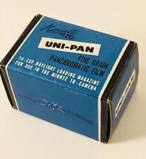 MINUTE 16 UNI-PAN CAMERA FILM 14 EXPOSURE MAGAZINE BLACK WHITE PHOTOGRAPHY NOS