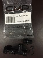 DEX2400S CMP AIR RELIEF VALVE Release Tee w/ O-RING DEX 2400 S Hayward New