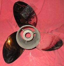 """Apollo 15 1/2 x 17 993023 Stainless Steel Propeller For 4 3/4"""" Drives (84-21)"""