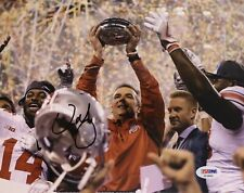 Urban Meyer Signed Autographed Ohio State Buckeyes 8x10 Photo Champs Psa/Dna
