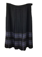 Vintage The Edinburgh Woollen Mill Pure New Wool Skirt Size 18