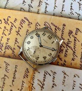 Zenith orologio militare vintage, meccanico carica manuale, watch Cal. 12-NSVI