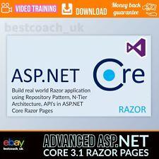 Advanced Asp.Net Core 3.1 Razor Pages - Video Training