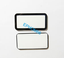Top Outer LCD Screen Display Window Glass Protector For Canon Eos 40D 50D +Tape