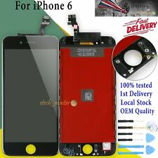 "Replacement Black For iPhone 6 4.7"" LCD Assembly Touch Screen Digitizer Display"